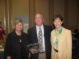 Ann and Rich with Dr. Schuchter